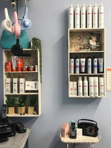 products in salon